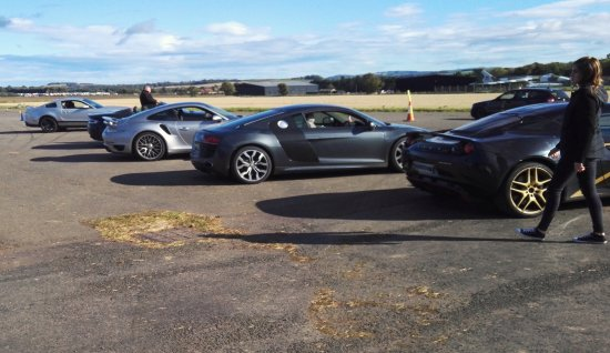 East Lothian, UK: Just some of the cars available