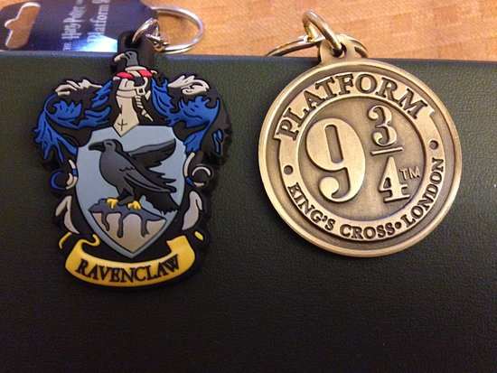 More Keychains Picture Of Harry Potter Shop At Platform 9 34