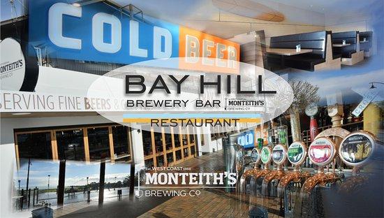 Timaru, Selandia Baru: The Bay Hill cold beer hot food