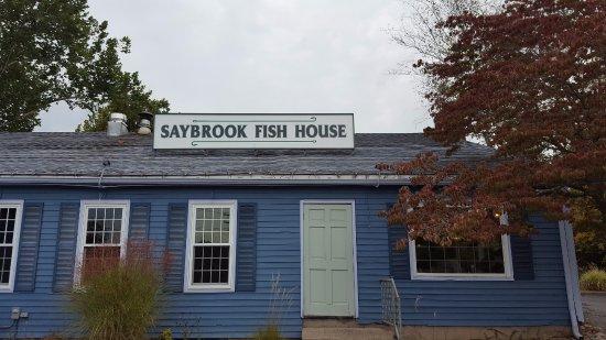 signage saybrook fish house canton