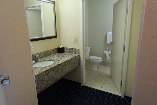 Courtyard Flint Grand Blanc: Bathroom, Room 301