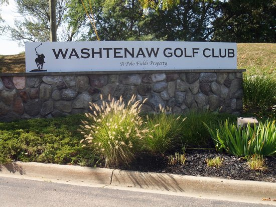 Washtenaw Golf Club - Ypsilanti, MI - sign