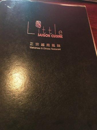Little Neck, Νέα Υόρκη: Little Saigon menu