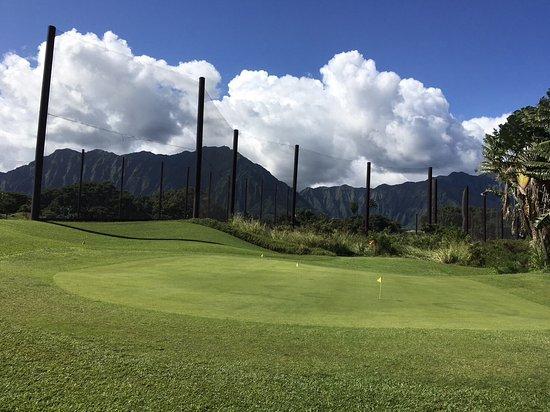 Bay View Golf Park: ゴルフコース練習場