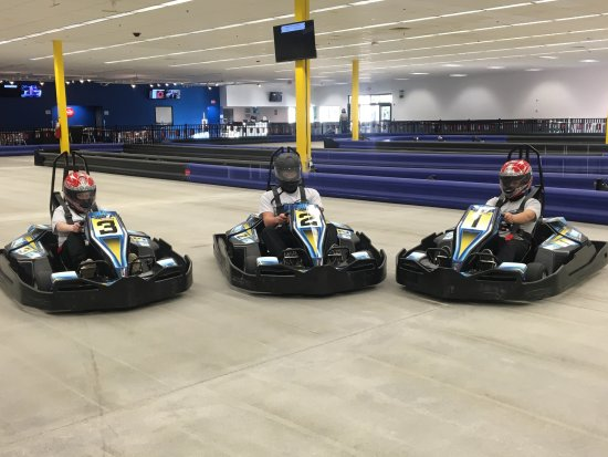 Seabrook, NH : Italiam made OTL Storm Electric Go-karts ...super fast...super fun!!