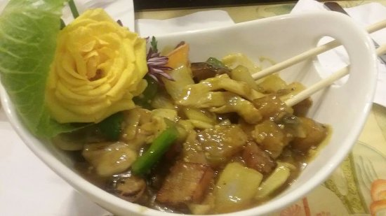Wauseon, OH: Curry Chicken