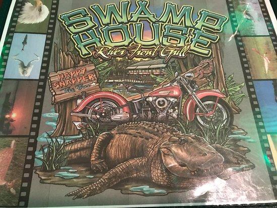 DeBary, FL: SWAMP HOUSE RESTAURANT MEMU