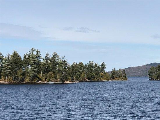 Greenville, ME: Scenes of Moosehead Lake aboard the Katahdin