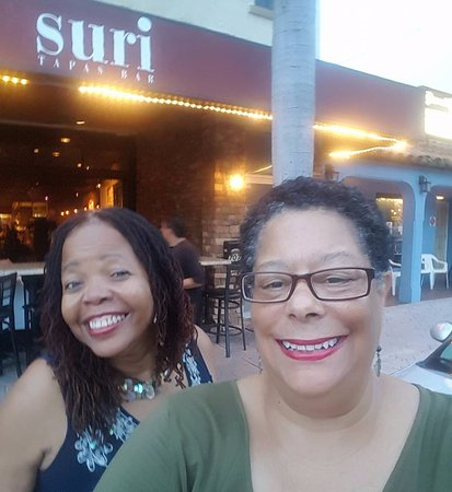 Francine and me at Suri in Lake Worth, FL