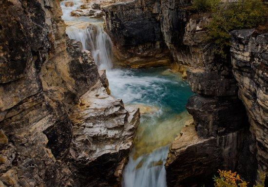Kootenay National Park, Canada: Marble Canyon Falls