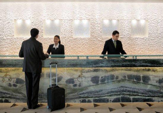 Dasman, Kuwejt: Reception Desk