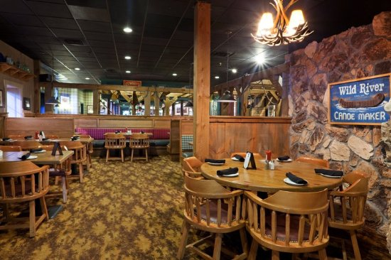 Mansfield, MA: Pikes Peak Mining Co. where kids 12 and under  eat free.