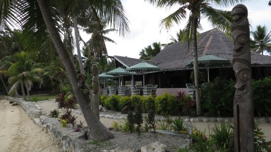 Aore Island Resort: The Nakamal (meeting place)