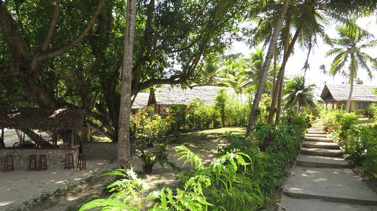 Aore Island, Vanuatu: Part of the grounds