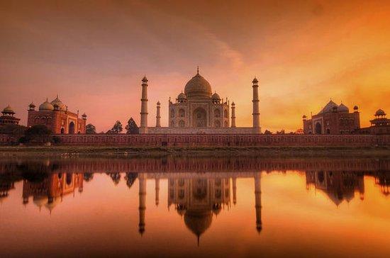 Taj Mahal Sunrise & Agra Fort & Baby Taj Day Tour From Jaipur