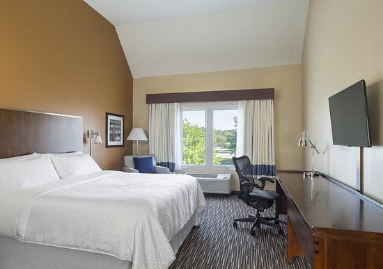 Buffalo Grove, IL: King Room Vaulted Ceiling
