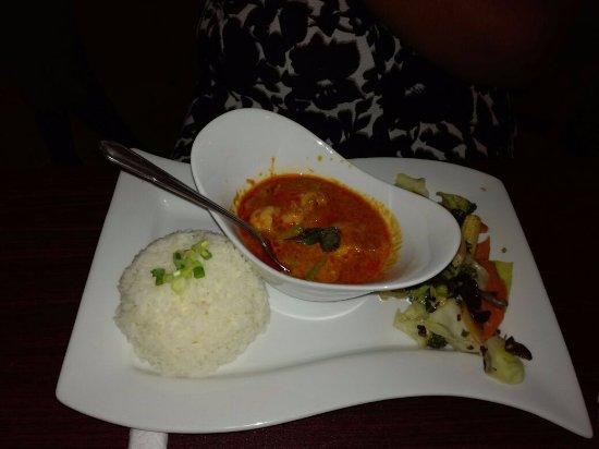 Couva, Trinidad: Thai Curry (shrimp)