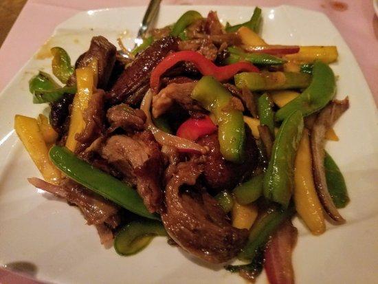 Mineola, NY: Lemonleaf Grill makes the best Mango Duck! So delish:-)