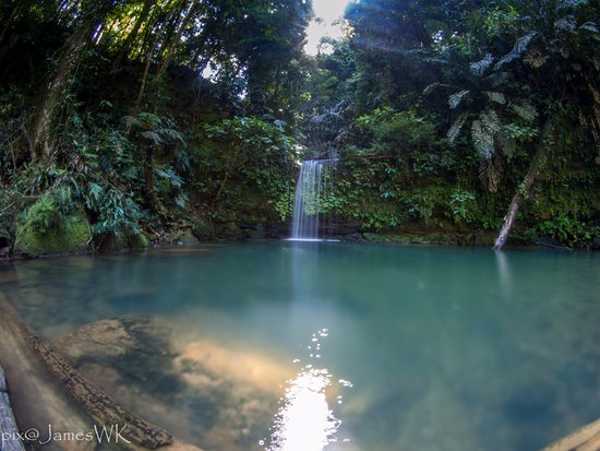 "Seria, Brunei Darussalam: ""Wasai"" is the lcao word for ""waterfall"""