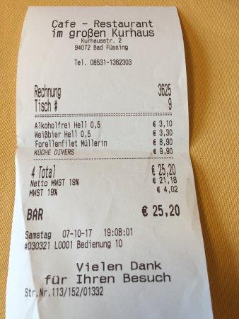 Cafe Restaurant im grossen Kurhauss