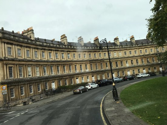 Photo of Royal Crescent in Bath, , GB
