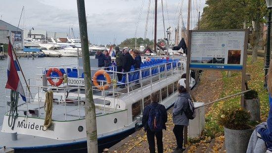 Muiden, هولندا: Leuk boottochtje vanaf Muiden