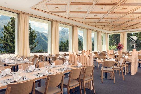 Berghotel Randolins : Frühstücks-Saal