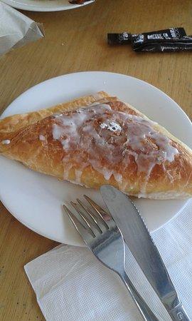 Adelaide Hills, Australien: Apple Danish, Lobethal Bakery