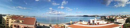 Alma di Alghero Hotel: Panning from the roof