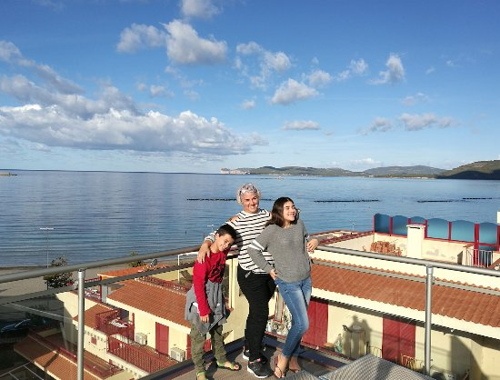 Alma di Alghero Hotel: on the roof