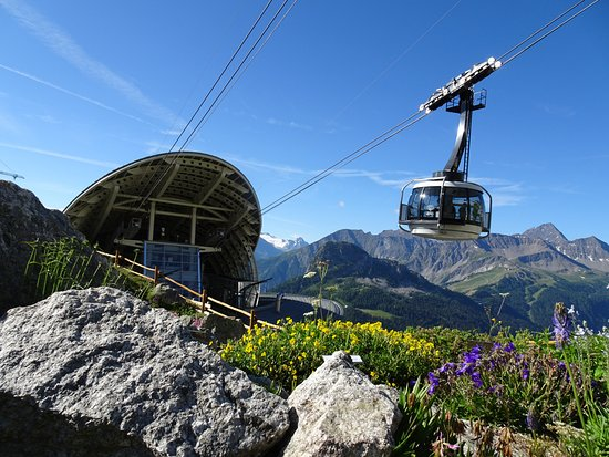 Pollein, Italy: Courmayeur Skyway Monte Bianco