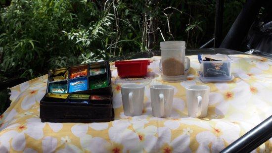 Heritage & Interpretive Tours : morning tea