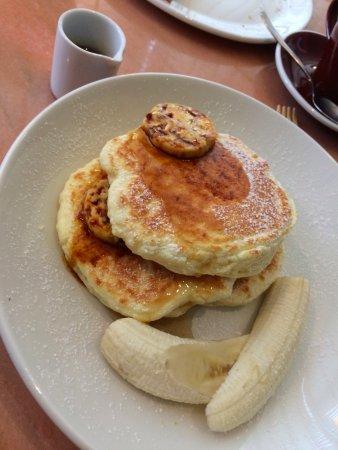 bills Gwanghwamun: ricotta hotcakes with bananas