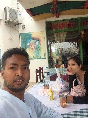 Jaipur Palace Santorini: Indian food best in greece