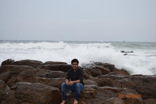 Rama Krishna Beach : Photo shoot