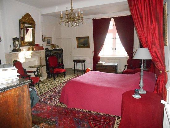 Flottemanville, Francia: chambre au château
