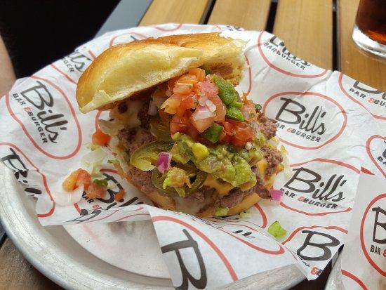 Bill's Bar & Burger : Burger ganz ok