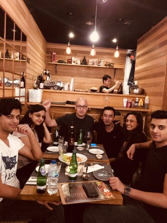 Paccata Crouch End: Our guests from PACATA-Covent Garden branch came to dine with us