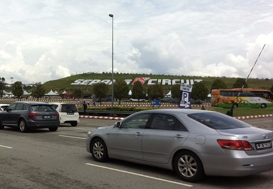 Sepang circuit view