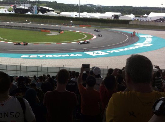 Sepang, Malaysia: The race is on