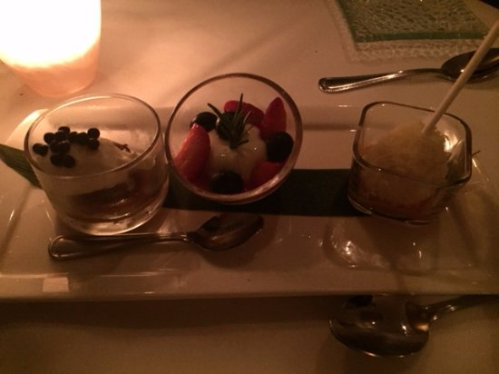East Quogue, Estado de Nueva York: Trio Dessert Samplet