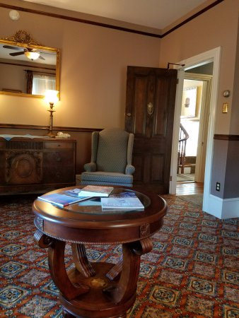 The Blue Rose Inn & Restaurant: Reading Room Access Door
