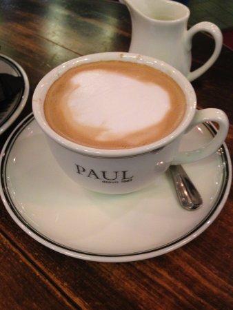 My complimentary coffee