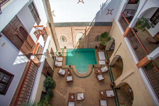 Riad Amira: Patio du riad