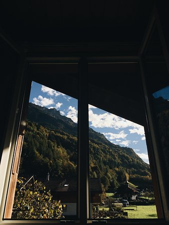 Iseltwald, Switzerland: great view from the room!