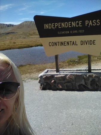 Independence Pass: top 12095 feet
