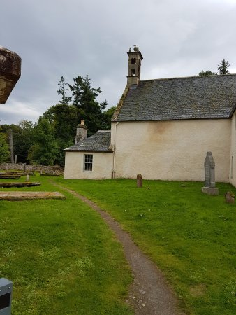 Cromarty, UK: Petit sentier vers St Regulus