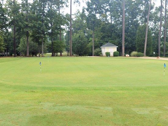 Чейпл-Хилл, Северная Каролина: practice green