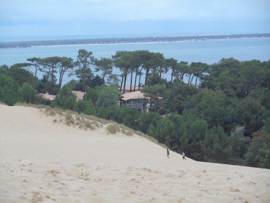 Dune du pilat vue sur arcachon foto di dune du pilat la teste de buch tripadvisor - Hotel dune du pilat ...