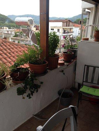 Pension Posidon : toit terrasse